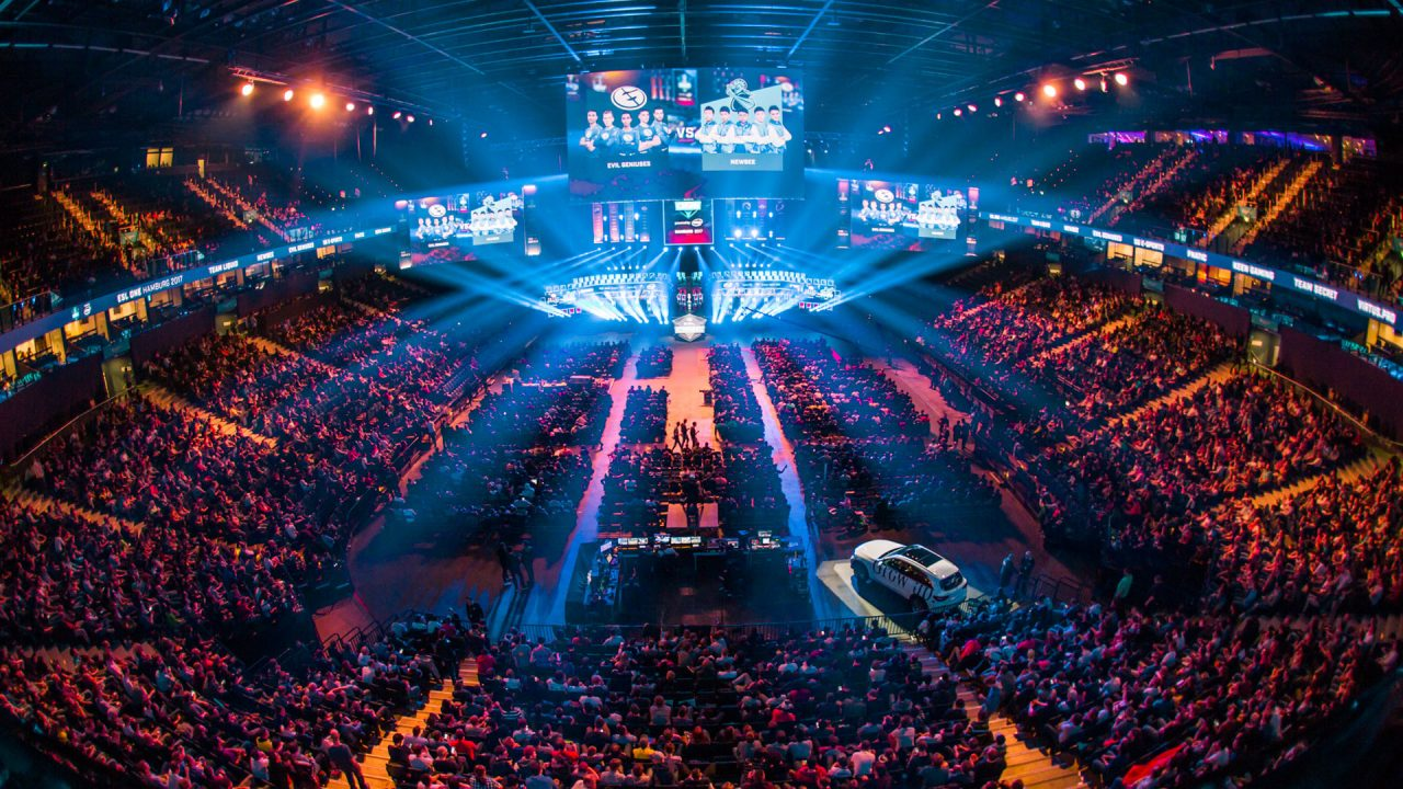 Arena der ESL One Hamburg 2017 - eSport