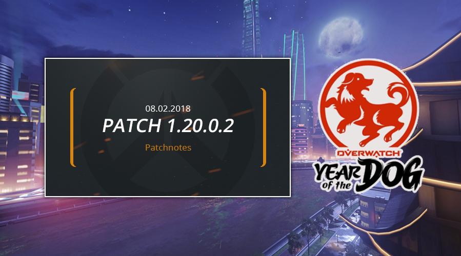Jahr des Hundes – Patchnotes zum Overwatch Patch 1.20.0.2