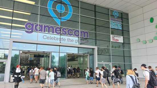Südeingang zur Gamescom 2015