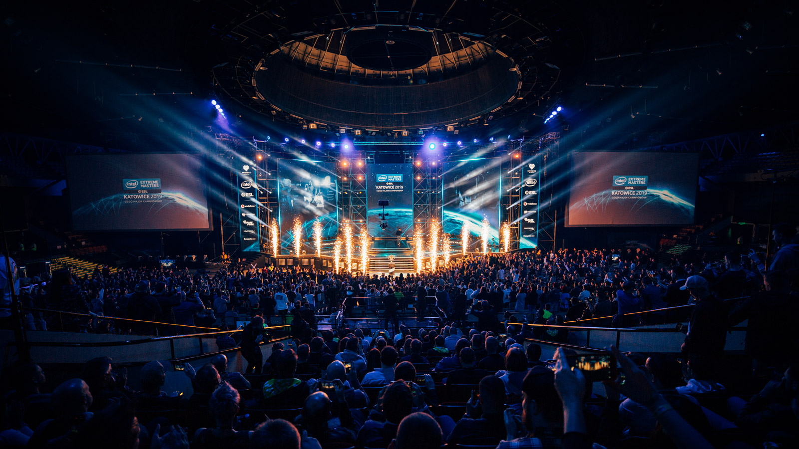 Die Intel Extreme Masters 2019 Major Championchip in Katowice